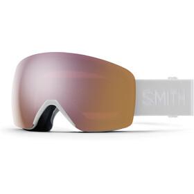 Smith Skyline Snow Goggles, blanco/rosa